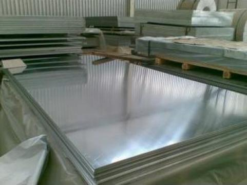 Tabla aluminiu 4x1000x2000 mm, Al 99.5%, EN-AW 1050 h24 de la MRG Stainless Group Srl