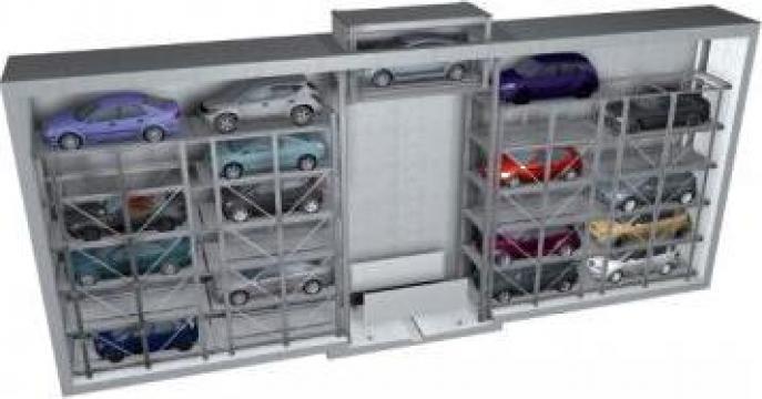 Sisteme de parcare auto Slimparker de la Elmas