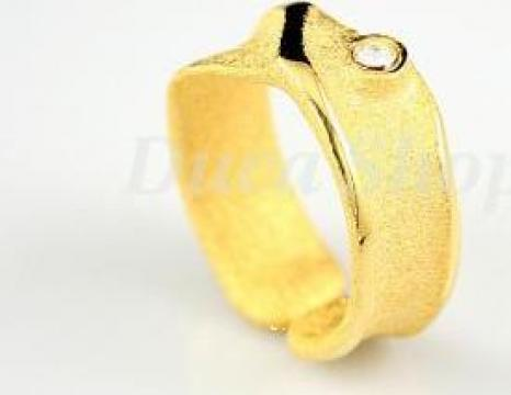 Inele placate cu aur 18 carate