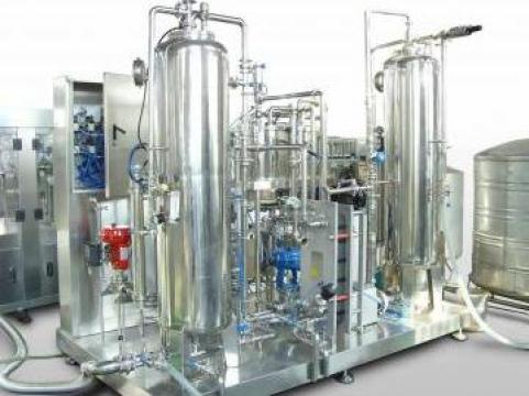 Instalatie de impregnare cu CO2 Carbonator / Premix
