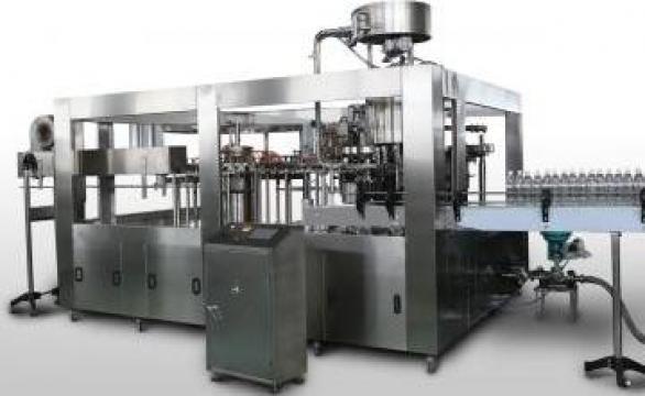 Instalatie de imbuteliat lichide carbonatate la recipiente t