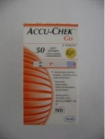 Teste glicemie Accu-Chek Go de la Business View Solutions Srl