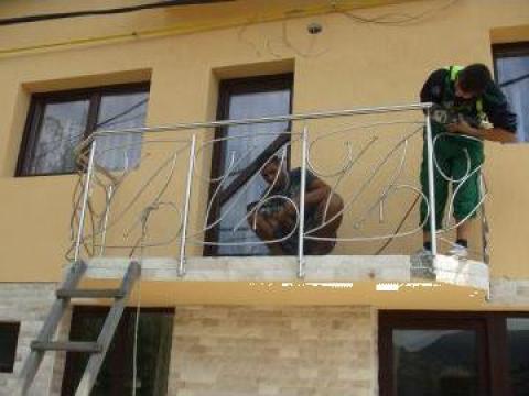 Balustrada de inox balcon de la Decorare Inox Srl