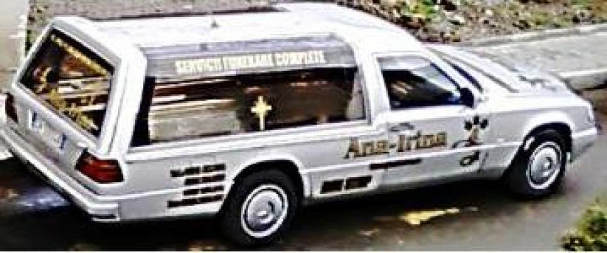 Transport mortuar de la Servicii Funerare Ana-Irina