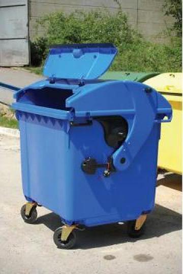 Containere material plastic de 660, 770 si 1100 litri de la Electrotools