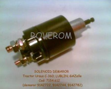 Solenoid demaror 12V (pentru demaror cu reductor)