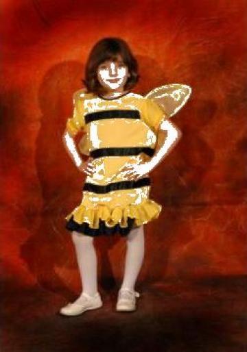 Costum de serbare pentru copii Albinuta de la Costume De Serbare Pompilia Silaescu