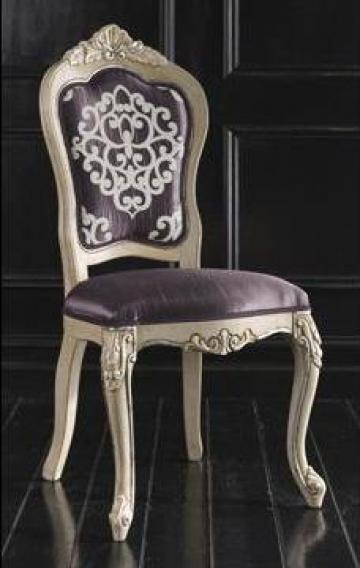 Scaun clasic tapitat Baroque 0115S de la Settimo Concept