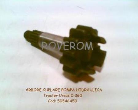 Arbore cuplare pompa hidraulica tractor Ursus c-360 de la Roverom Srl
