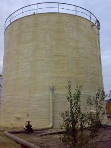 Izolatii cu spuma poliuretanica rezervoare de la Ecoquality Services