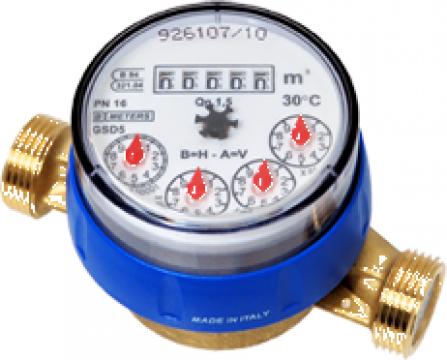Contor de apa rece/calda BMeters GSD5 DN 15, DN 20