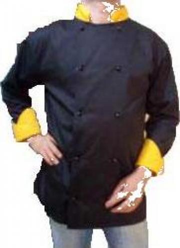 Costum de bucatar negru de la Johnny Srl.