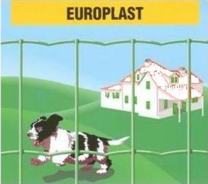 Plasa sudata acoperita cu PVC Europlast de la Decorio Plus Srl