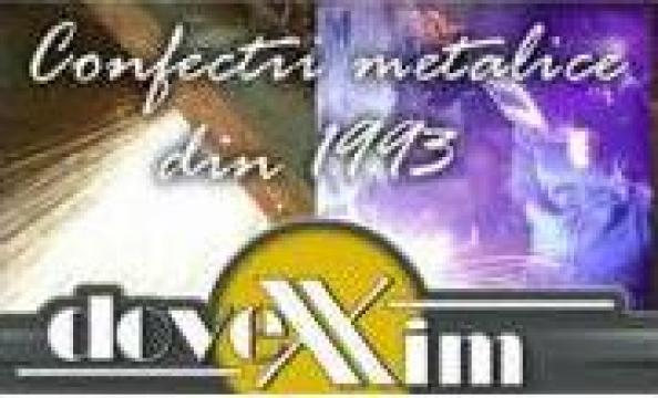 Gratare metalice zincate sau negre de la Dovexim S.r.l.