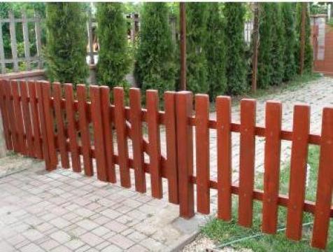 Gard de lemn brad