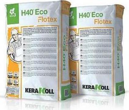 Adeziv pt. placi Kerlita, Laminam - H40 Eco Flotex