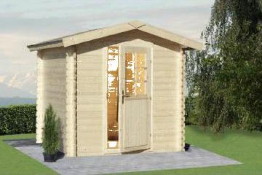 Case de gradina - lemn de conifere