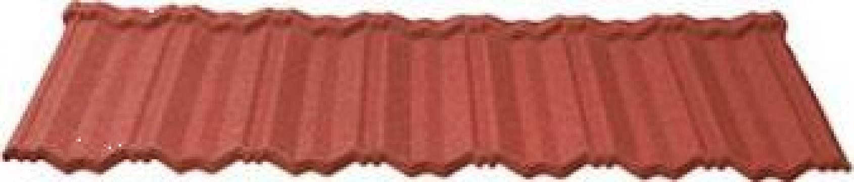 Tigla metalica Lindab Roca