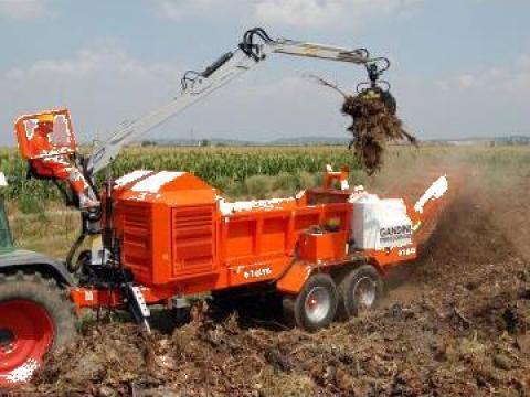 Tocator deseuri lemn Biomatich 91 de la Progema Forest Srl