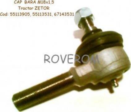 Cap bara cilindru directie Zetor (filet dreapta) de la Roverom Srl