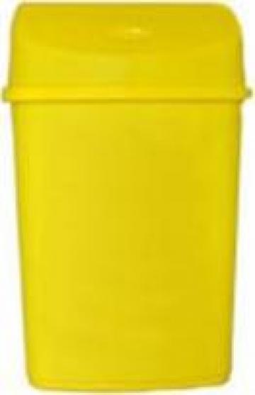 Cosuri gunoi colorate colectare selectiva 55 litri - Galben de la Electrotools