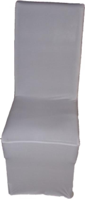 Husa pentru scaune stretch licra alba
