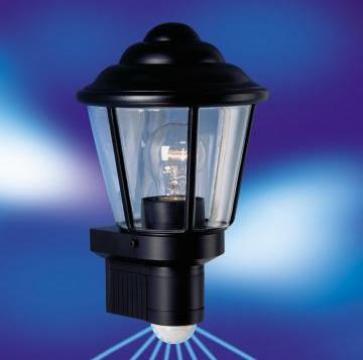 Lampa cu senzor pentru perete exterior de la Eurovox Trading Srl