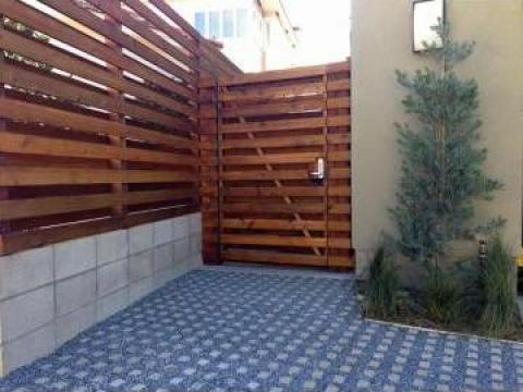 Garduri din lemn Bucuresti de la Rollux Construct