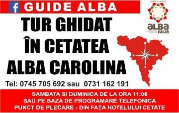 Tur ghidat standard - Cetatea Alba Carolina de la Chindris Claudiu Daniel Pfa