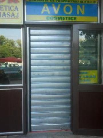 Grilaj metalic securizare magazin de la Leontech Electric Srl