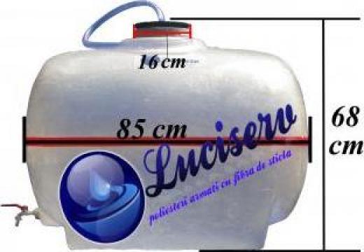 Butoi fibra sticla pentru vin 200 litri