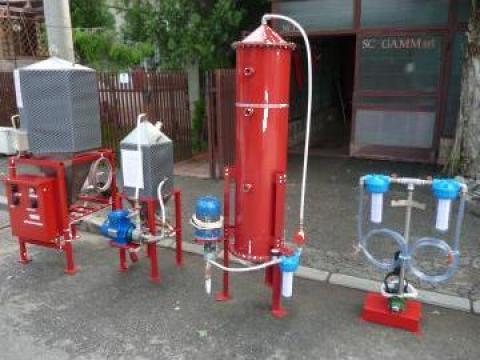 Instalatie obtinere biodiesel 1200 L /24 ore