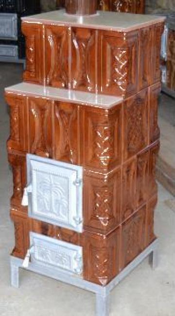 Mobila pentru bucataria sobe teracota preturi pe lemne for Dedeman sobe teracota cu plita