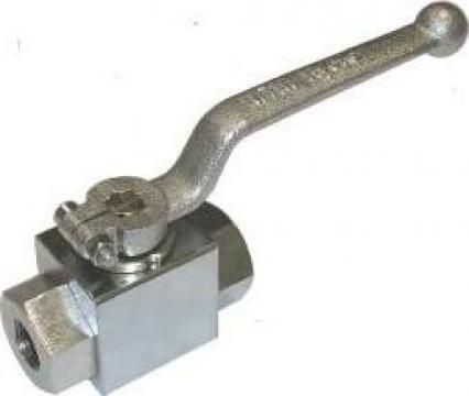 Robinet de inalta presiune instalatie sablare 500 bar de la Pumps Factory Srl