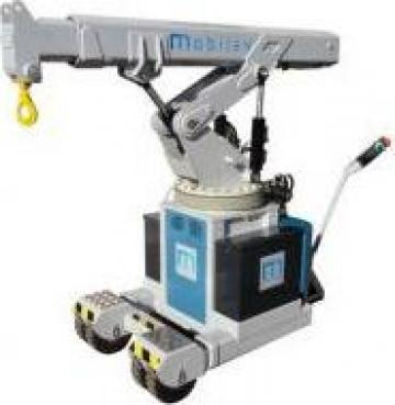 Macara electrohidraulica 2 tone - cu operator pietonal de la Elmas