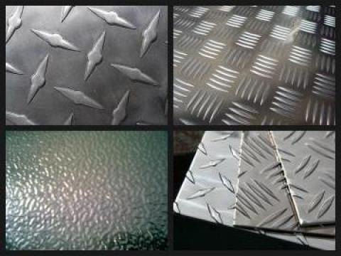 Tabla din aluminiu striata