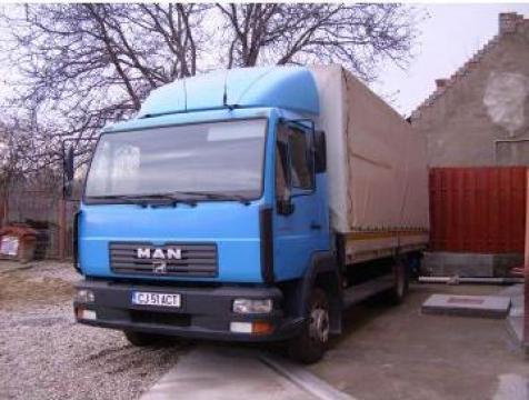 Transport marfa cu camion 7,5 tone