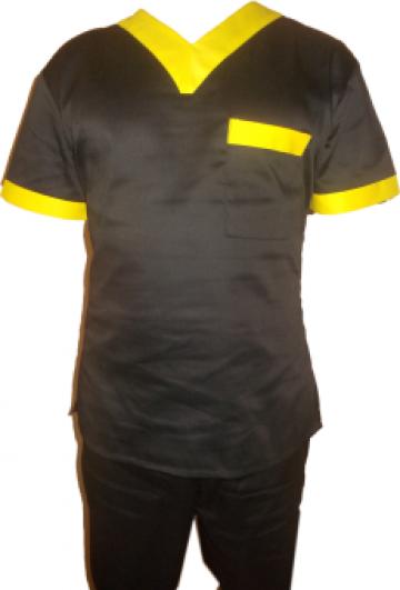 Uniforma de protectie neagra