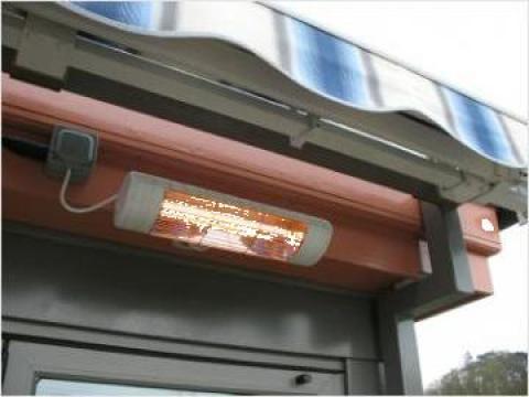 Panouri radiante de exterior cu lampa in infrarosu de la Tehnocom Liv Rezistente Electrice, Etansari Mecanice