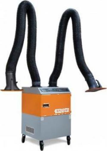 Echipament exhaustare fum Mobil Kemper de la Bendis Welding Equipment Srl