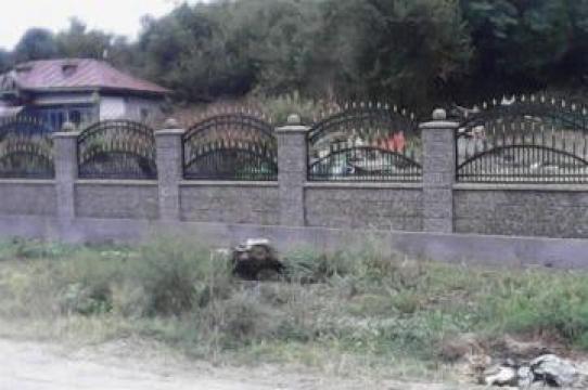 Gard cu poarta mica si mare