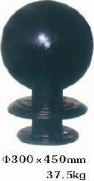 Stalp ornamental fonta restrictionare acces PLGFG22 de la Palagio System Group