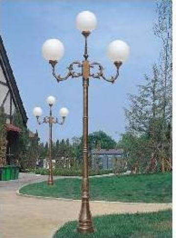 Stalp iluminat gradina din aluminiu PLGSA23 de la Palagio System Group