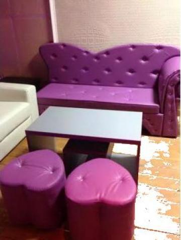 Canapele club, cafenea, bar, pub de la SC Furniture and Sofa SRL