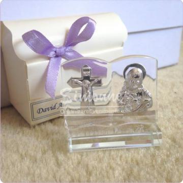 Marturie nunta, botez iconita sticla - carte de la Simonne