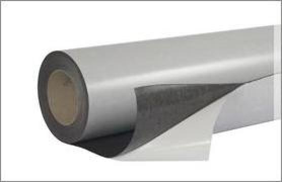 Folie magnetica autoadeziva grosime 0,3 mm de la Neomagnet SRL