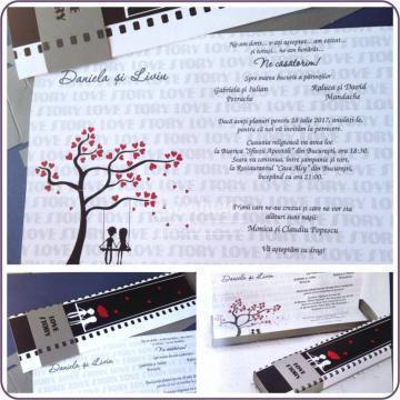 Invitatie nunta Love Story de la Simonne