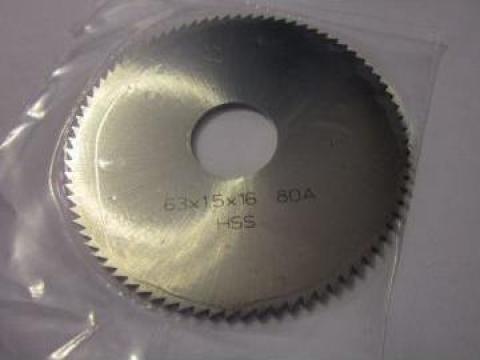 Freza Disc 63x1.5x16 mm de la Baza Tehnica Alfa Srl