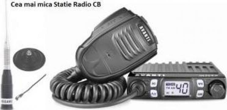 Statie radio CB Avanti Micro cu putere reglabila 4-8 Watti