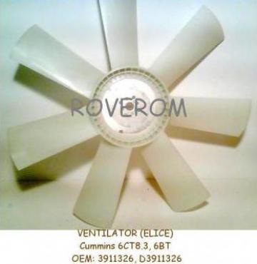 Ventilator (elice D=750mm) Cummins 6CT, 6BT de la Roverom Srl